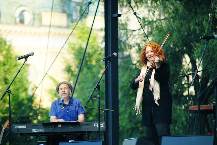 2017-07-05 - The Klezmatics performs at Kungsträdgården, Stockholm