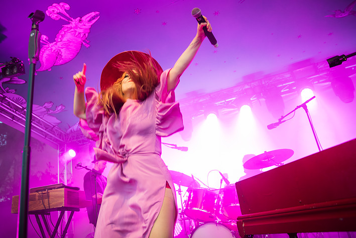 2017-08-17 - Miss Li performs at Mosebacke, Stockholm