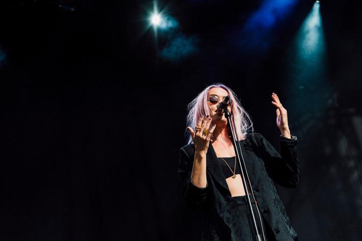 2017-09-01 - Ana Diaz spelar på Popaganda, Stockholm