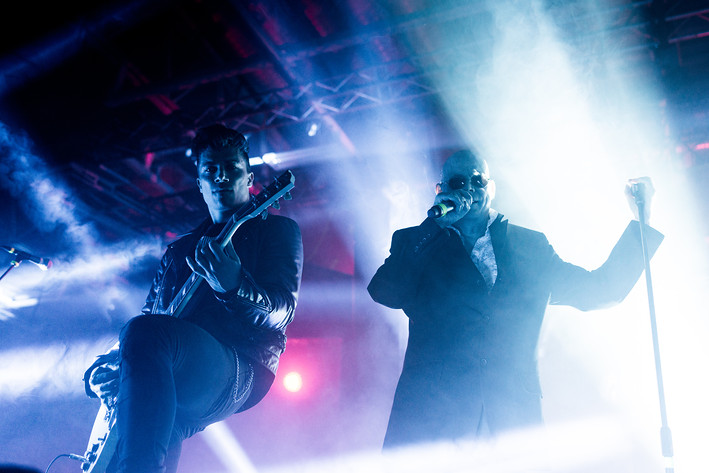 2017-09-09 - The Sisters of Mercy performs at Arenan, Stockholm