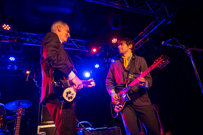 2017-09-21 - Robert Forster performs at Debaser Hornstulls Strand, Stockholm