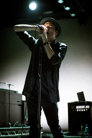 2017-10-11 - Thåström performs at Lisebergshallen, Göteborg
