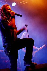2004-09-07 - In Flames spelar på Sticky Fingers, Göteborg