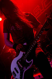 2005-06-02 - Mustasch performs at Mondo, Stockholm