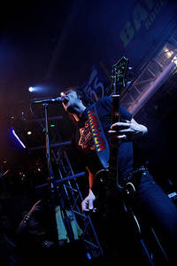 2006-11-11 - Mustasch spelar på Banditkryssningen, Östersjön