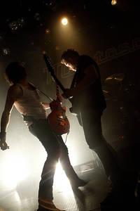2007-12-28 - Mustasch performs at Trädgår'n, Göteborg