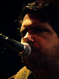 2008-11-14 - Damien Jurado spelar på Debaser Malmö, Malmö