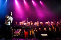 2009-05-09 - David Sandström Overdrive spelar på Norrlands Operan, Umeå