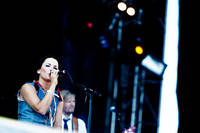 2009-06-27 - Sophie Zelmani spelar på Peace & Love, Borlänge