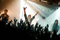 2009-11-18 - The Sounds performs at Sputnikhalle, Münster