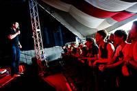 2011-06-30 - Al Pitcher spelar på Peace & Love, Borlänge