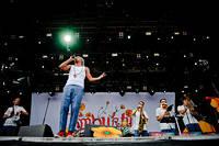 2011-07-01 - Timbuktu spelar på Peace & Love, Borlänge