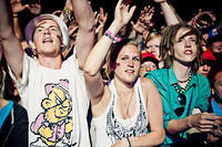 2011-07-01 - Looptroop Rockers performs at Peace & Love, Borlänge