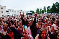 2011-07-21 - Those Dancing Days spelar på Trästockfestivalen, Skellefteå