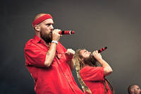 2011-08-22 - Looptroop Rockers performs at Malmöfestivalen, Malmö
