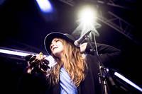2011-08-24 - Jennie Abrahamson performs at Malmöfestivalen, Malmö