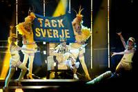 2012-02-04 - Sean Banan spelar på Vida Arena, Växjö
