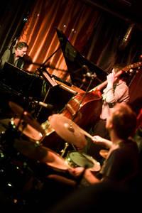 2012-03-31 - Bobo Stenson Trio spelar på Hemma Hos Kaj, Stockholm
