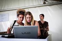 2012-05-25 - Linny Hex spelar på Dans Dakar, Stockholm
