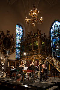 2012-06-10 - Concerto Italiano spelar på Tyska Kyrkan, Stockholm