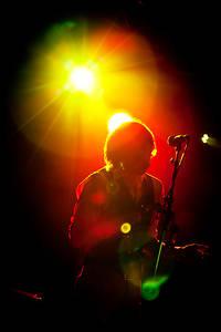 2012-06-29 - Mattias Hellberg & The Fur Heads spelar på Peace & Love, Borlänge