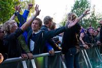 2012-06-30 - Coca Carola spelar på Peace & Love, Borlänge