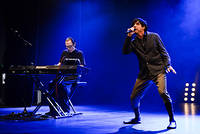 2012-10-09 - Sparks performs at Södra Teatern, Stockholm