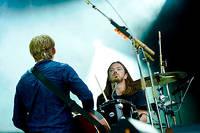 2013-08-08 - Johnossi spelar på Way Out West, Göteborg