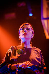 2015-03-27 - Hello Saferide spelar på Umeå Open, Umeå
