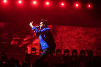 2017-02-17 - The Weeknd performs at Globen, Stockholm