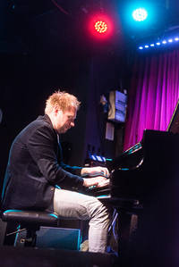 2017-04-24 - Daniel Karlsson Trio performs at Fasching, Stockholm