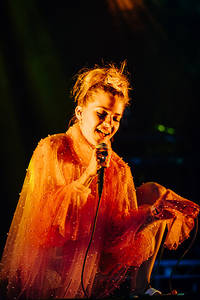 2017-08-10 - Tove Styrke performs at Way Out West, Göteborg