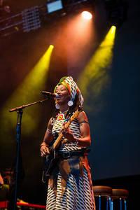 2017-08-11 - Fatoumata Diawara & Hindi Zahra performs at Way Out West, Göteborg